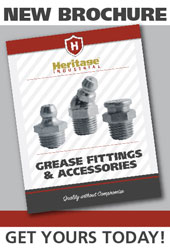 Heritage Industrial Grease Fittings. Find the perfect fit for your application!