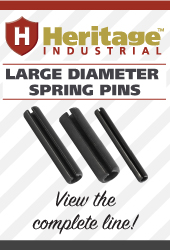 View the complete line of Heritage Industrial Large Diameter Spring Pins!