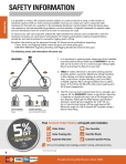Lifting Hardware Safety Information