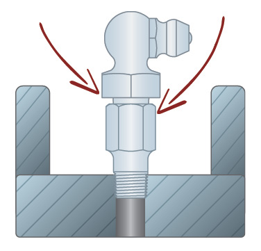 how to get a grease fitting to take grease