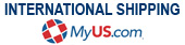 International Shipping available through MyUS.com