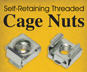 Self Retaining Threaded Cage Nuts