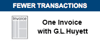 One Invoice with GL Huyett