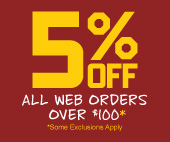 Get 5% Off All Web Orders Over $100 at Huyett.com