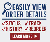 Easily View Order Details | STATUS, TRACK, HISTORY, & REORDER