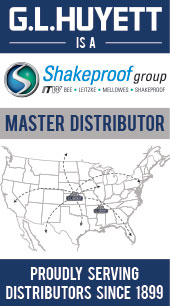 Master Distributor of ITW Shakeproof. Proudly Serving Master Distributors Since 1899