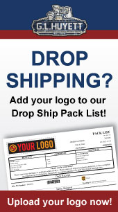Add your logo to our Drop Ship Pack List!