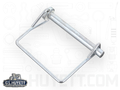 Snap Safety Pin Square One Wire 1/4 x 2-1/2 Steel ZC