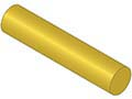 MAK-A-PIN Round Key Stock 1/2 x 3 Ft Brass Bilateral